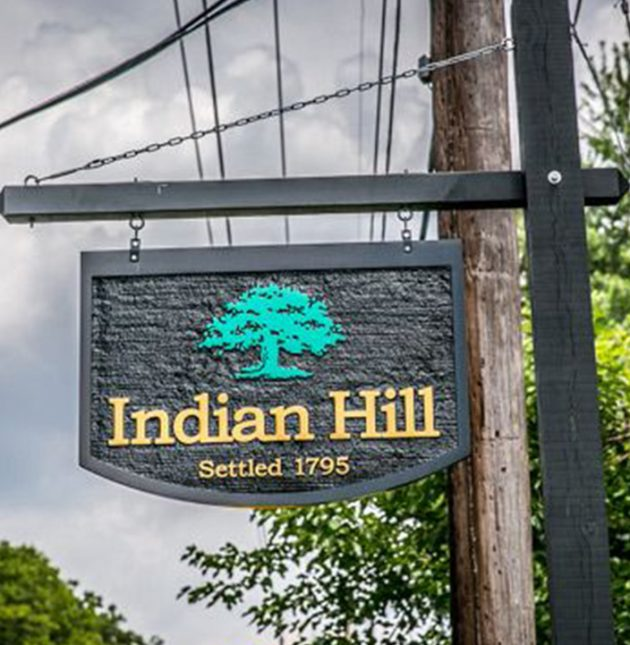 The Meadows at Peterloon - Indian Hill Sign - J&K Custom Homes